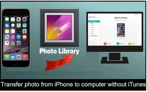 how to transfer pics from iphone to computer how to transfer photo from iphone to computer without itunes