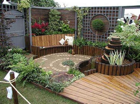 algunas ideas  jardines pequenos  jardines