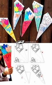 Paper BOUQUET for Mother's Day - such a cute idea! Let ...