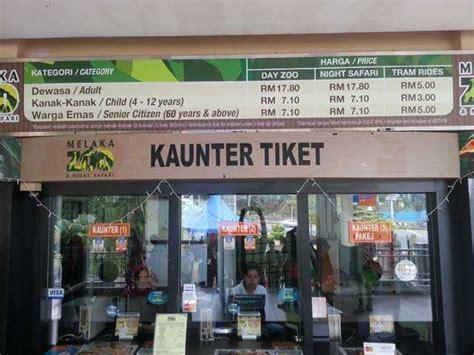Akan dikenakan tambahan biaya untuk: Melawat Zoo Melaka | Percutian Bajet