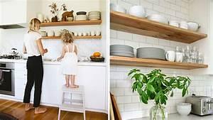 Comment organiser des etageres ouvertes dans la cuisine for Deco etagere cuisine