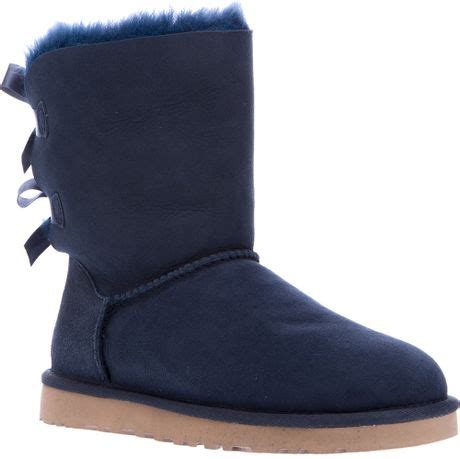 light blue uggs with bows ugg bailey bow blue