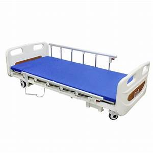 3 Functions Electric Hospital Bed Low Bed With Dual Side Rail