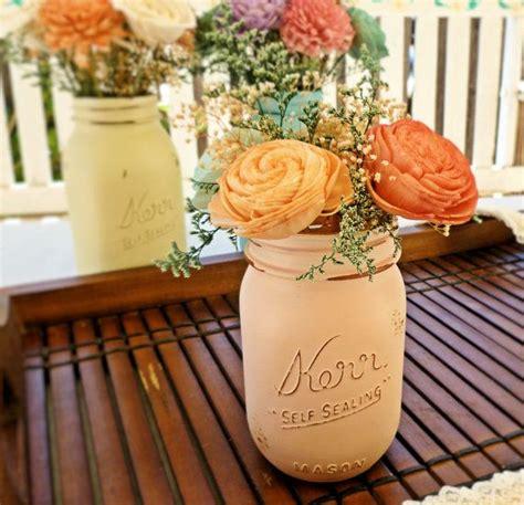 Shabby Chic Wedding Decor Diy Wedding Centerpiece Flowers Wedding Reception Wedding Decor Sola Flowers Diy Wedding Shabby