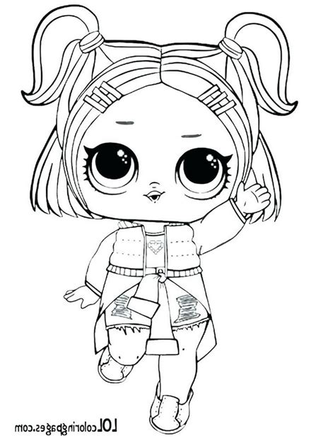 lol doll coloring pages splash the best coloring pages