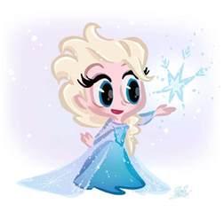 Cartoon Disney Frozen Elsa