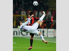Sergio Ramos and Zlatan Ibrahimovic Photos Photos AC