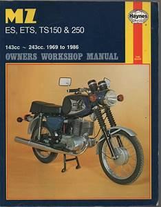 Mz Es  Sts  Ts150  U0026 250 1969