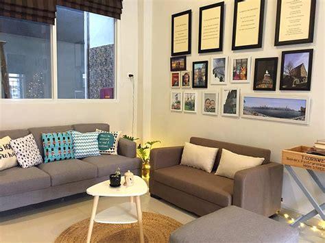 gambar desain interior ruang tamu rumah tipe  rumah xy