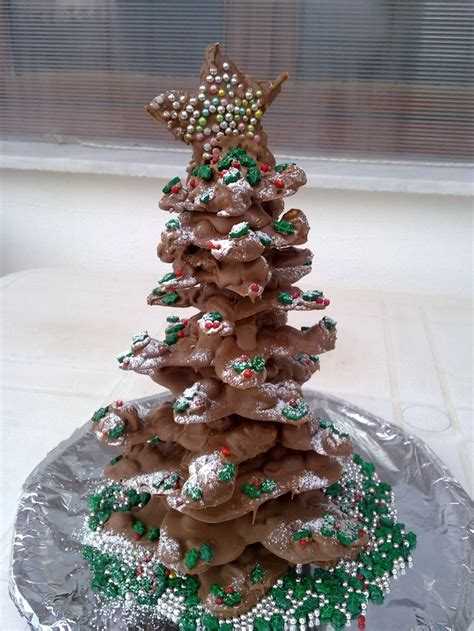 christmas tree desserts  ideas