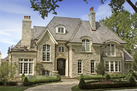 Authentic French Country House Plans Intended For French