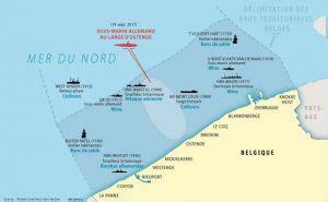 vestiges de guerre sous marine au fil de lauweau fil de