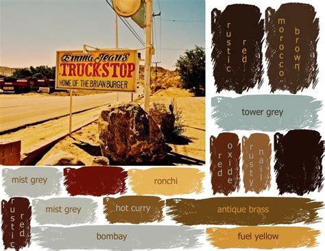 rustic color rustic color palettes on rustic paint colors