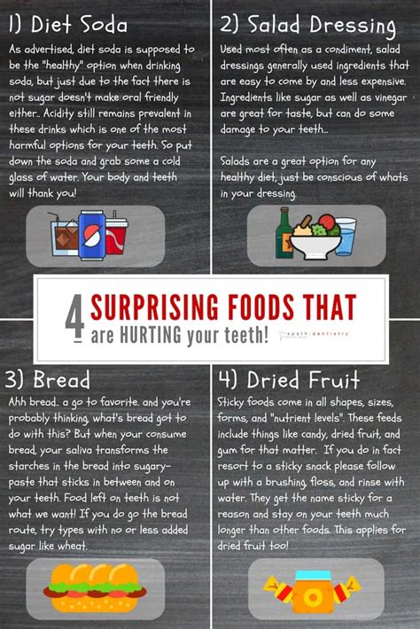 4 Surprising Foods That Are Hurting Your Teeth Spath