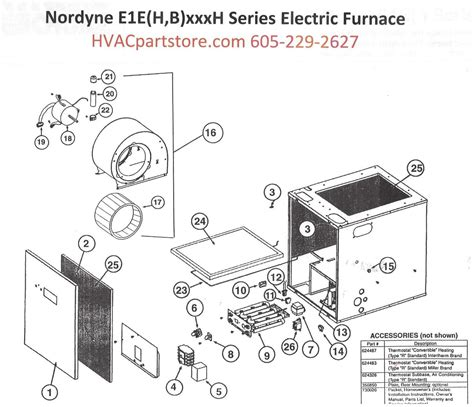 eehh nordyne electric furnace parts hvacpartstore