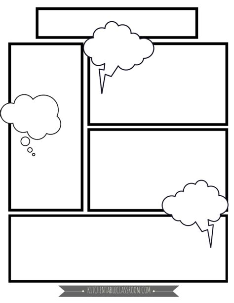 comic book templates free printable pages it s a draw comic book template comic book