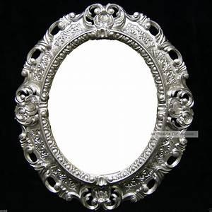Wandspiegel Silber Antik : wandspiegel silber barock oval spiegel antik 45x38 badspiegel oval spiegel 3045 ~ Watch28wear.com Haus und Dekorationen