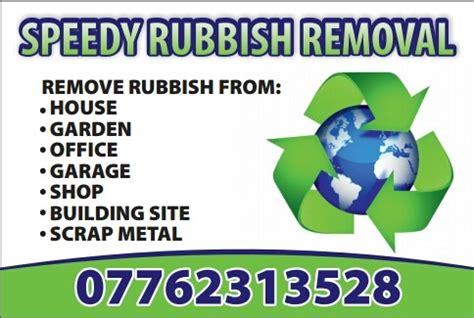 speedy rubbish removal demolition contractor waste