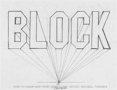 3d block letters draw 3d block letters 20095 | draw 3d block letters 05