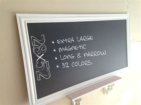 Kitchen Organizer Chalkboard by Large Kitchen Chalkboard Framed Chalk Board Office