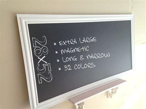 large kitchen chalkboard framed chalk board office