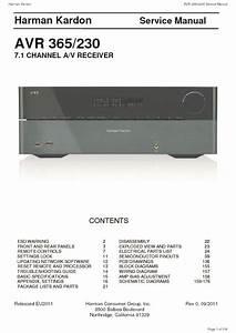 Harman Kardon Avr 365 Service Manual  U2014 View Online Or