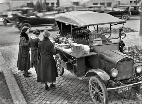 Food Truck, 1919 A Model T Sandwichvending Machine