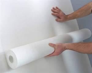 comment poser du papier peint a peindre nos conseils With comment peindre du papier peint