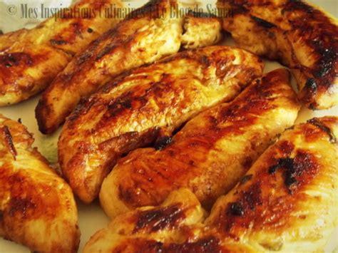 cuisiner aiguillette de poulet aiguillettes de poulet marine au citron vert par mes inspirations culinaires