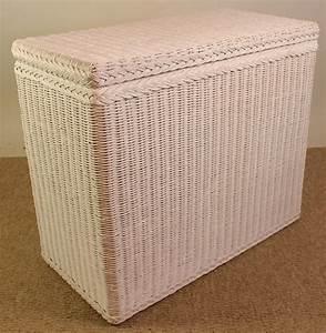 Wäschekorb 4 Fächer : rattan w schesortierer 3 f cher wei lackiert rattan xxl ~ Whattoseeinmadrid.com Haus und Dekorationen