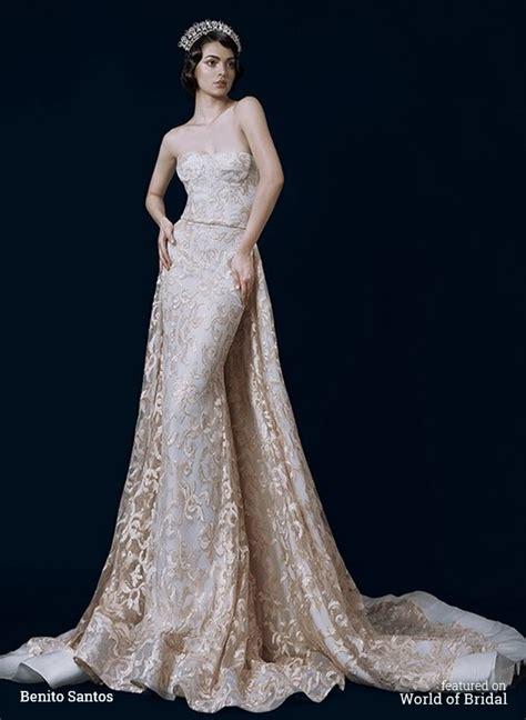 benito santos  wedding dresses world  bridal
