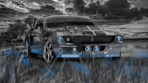 ford mustang shelby gt muscle crystal nature car