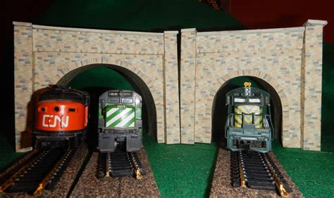 ho scale model train set   types  tunnel portals