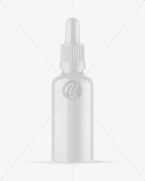 Two glossy dropper bottles mockup in bottle mockups on yellow images object mockups. Glossy Plastic Dropper Bottle Mockup in Bottle Mockups on ...