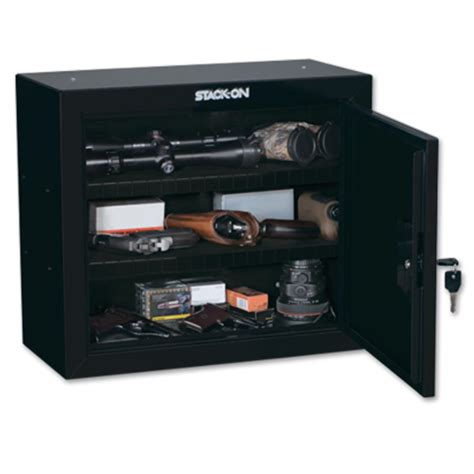 stack on gun cabinet shelves stack on pistol ammo cabinet with 2 shelves gcb 900