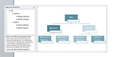 family tree powerpoint  smartart