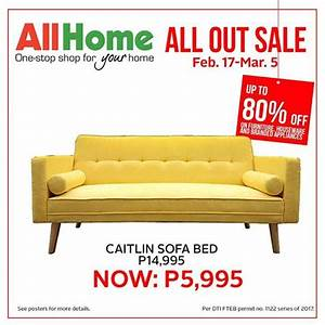 Caitlin sofa sale at all home loopme philippines for Home furniture for sale in cavite