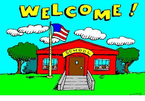 School Open House Clip Art