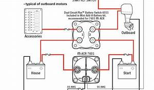 Boat Dual Battery Wiring Diagram
