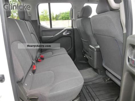 nissan navara 2008 interior nissan navara 2 5 dci 4x4 double cab pickup 2008 stake
