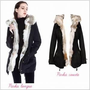 Parka A Fourrure Femme : manteau d 39 hiver parka femme blog de mode ~ Nature-et-papiers.com Idées de Décoration