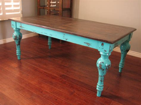 enchanting distressed wood kitchen table also wonderfull