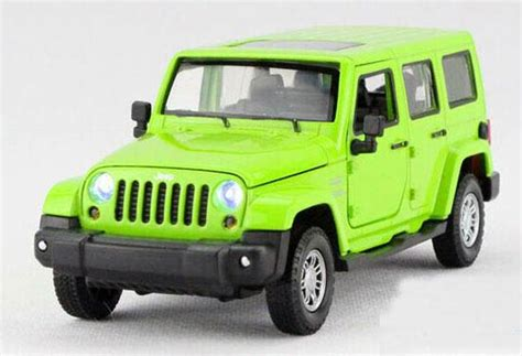 red toy jeep kids green red yellow 1 32 diecast jeep wrangler toy