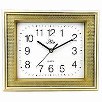 rectangular wall clocks Rectangle Wall Clocks: Amazon.com