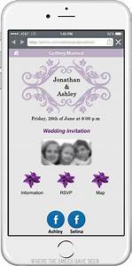 diy wedding invites with mobile app qr code free cut files With wedding invitation for mobile