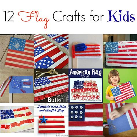crafts for 4th of july flag crafts for kids