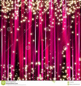 Widescreen For Sparkle Pink Stars Background Royalty Stock ...