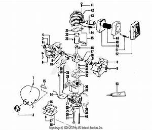 Poulan 6000 Gas Trimmer Parts Diagram For Engine Block
