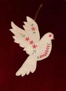 Christmas Dove Pattern