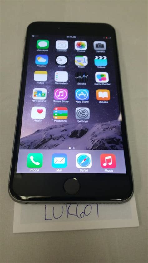 sprint iphone 6 luk601 apple iphone 6 plus sprint for 500 swappa